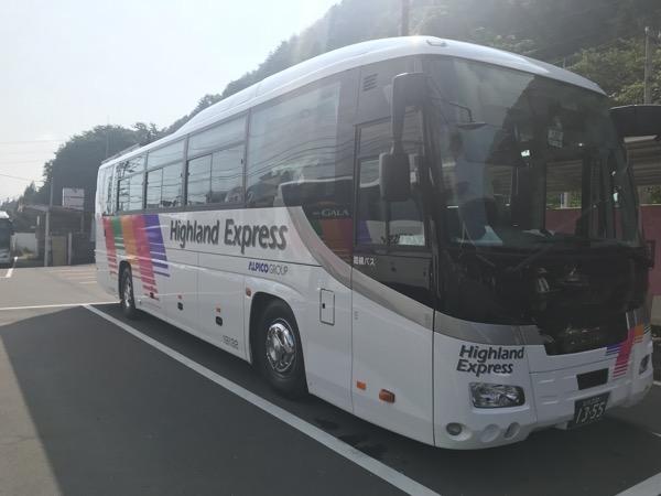 上高地バス