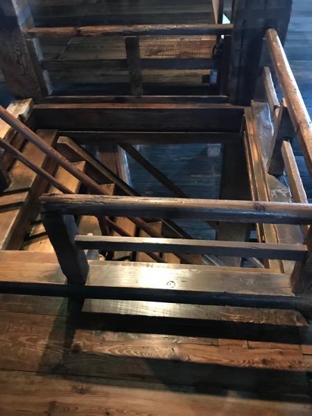 松江城 天守階段