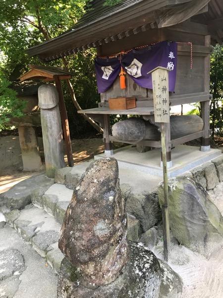 八重垣神社 山上神社