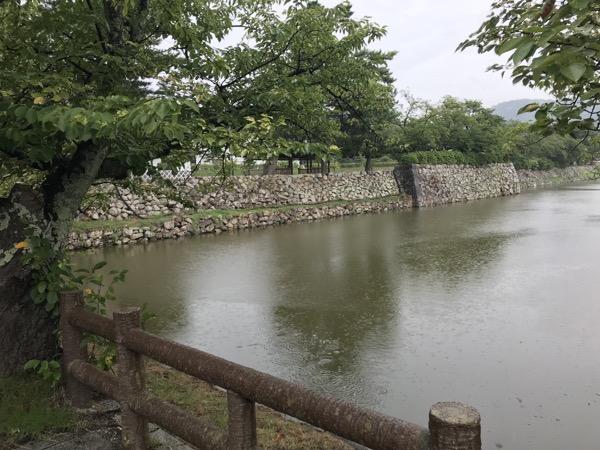鳥取城の堀
