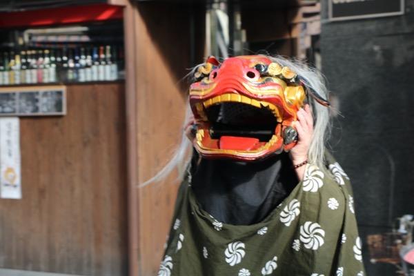 末廣神社の獅子舞