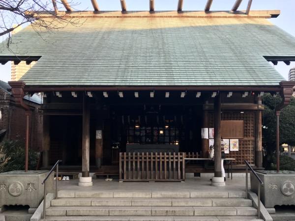 住吉神社の拝殿