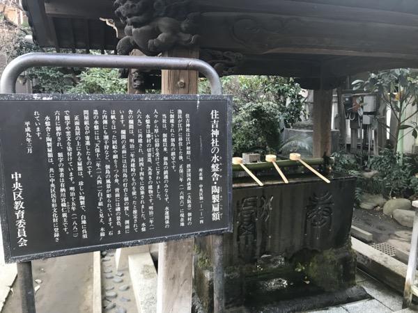 住吉神社の水盤舎(おみずや)