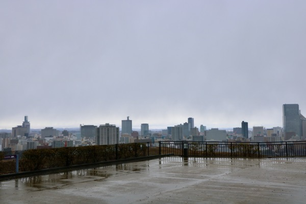 仙台城からの眺め