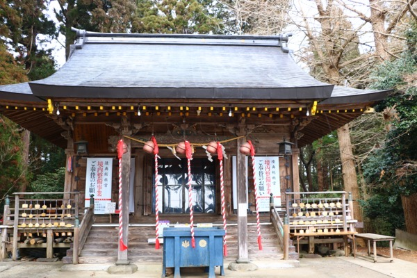 陸奥総社宮 拝殿
