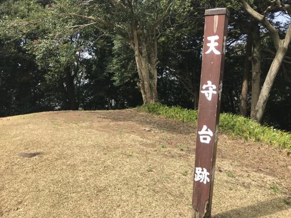石垣山城 天守台跡