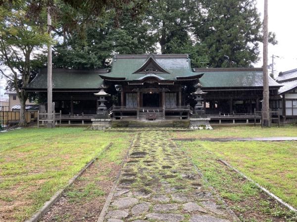 高島城 諏訪護国神社