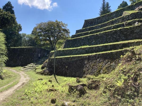 岩村城 六段壁
