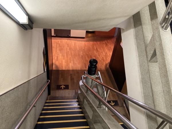 大阪城 階段