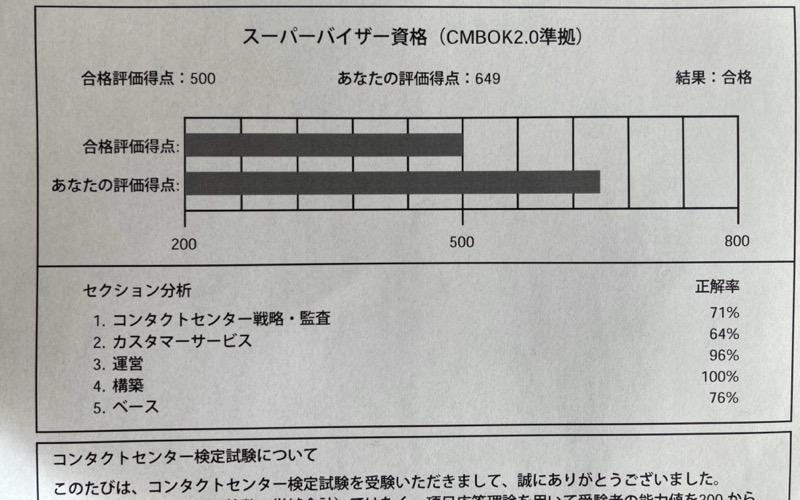 コン検 試験結果
