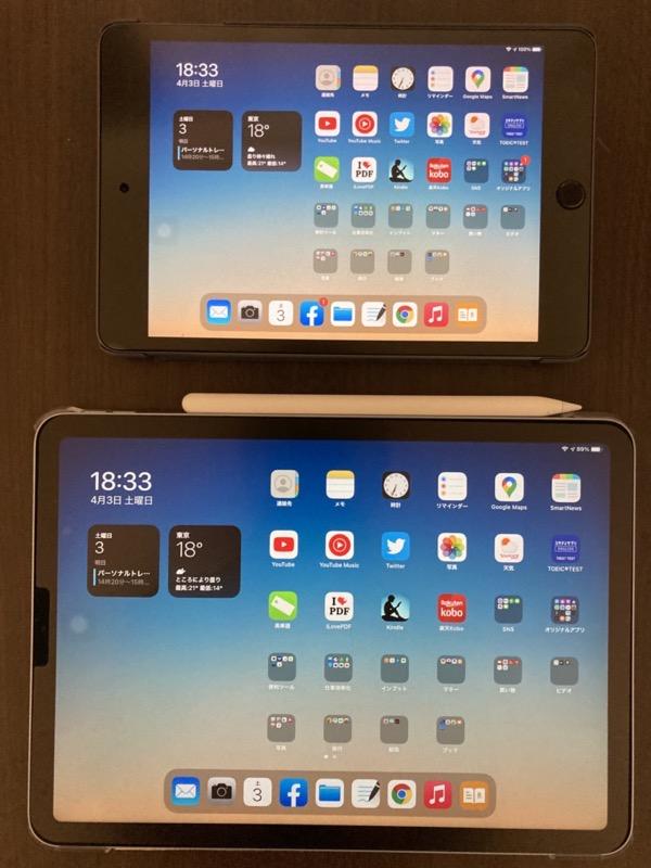 iPad miniとiPad Air