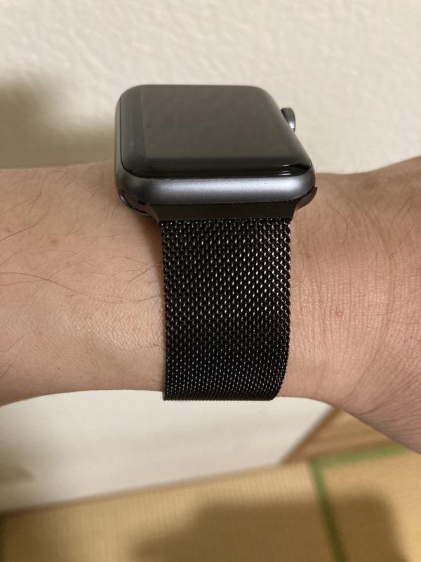 Apple Watch ステンレス ミラネーゼループ