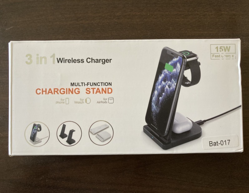 3in 1 Wireless Charger