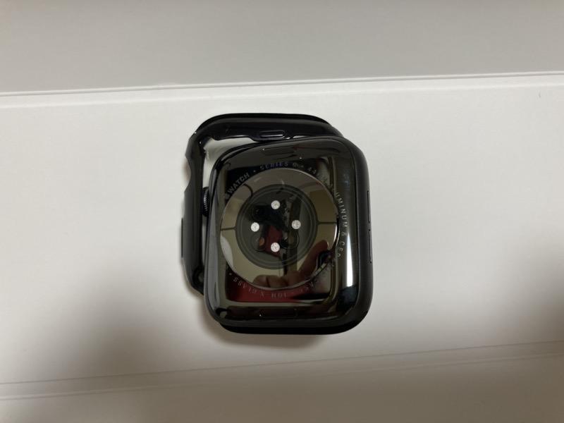 Apple Watchにカバー装着