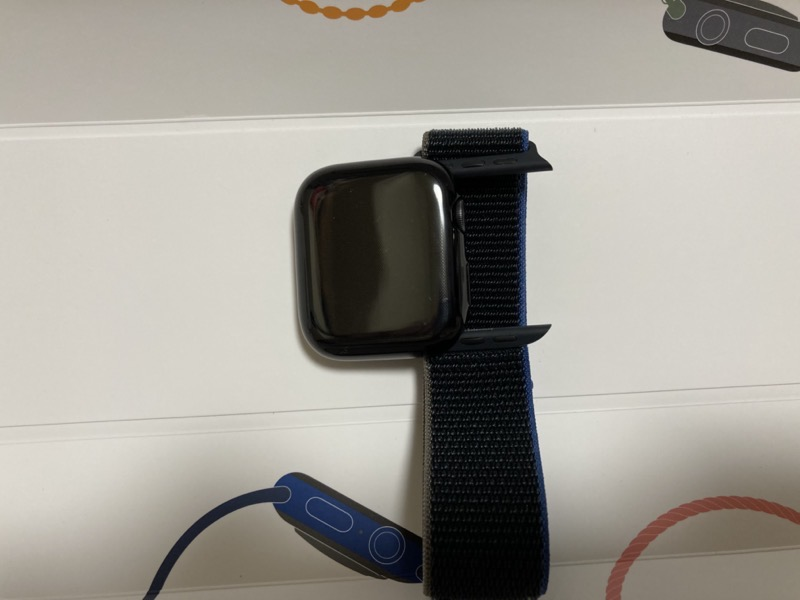 Apple Watchにバンド装着