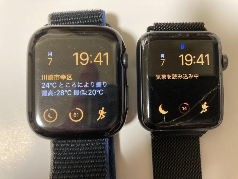 Apple Watch6 とApple Watch 2