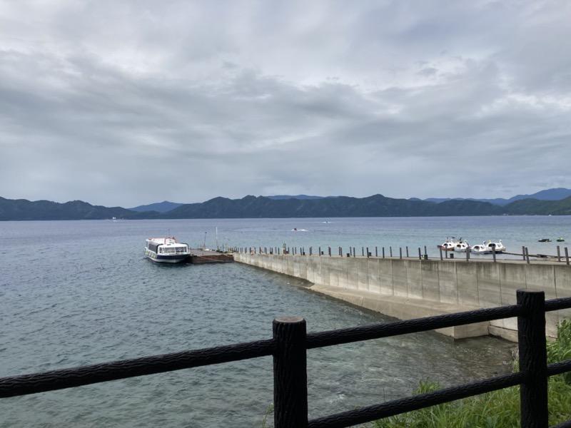 田沢湖 遊覧船